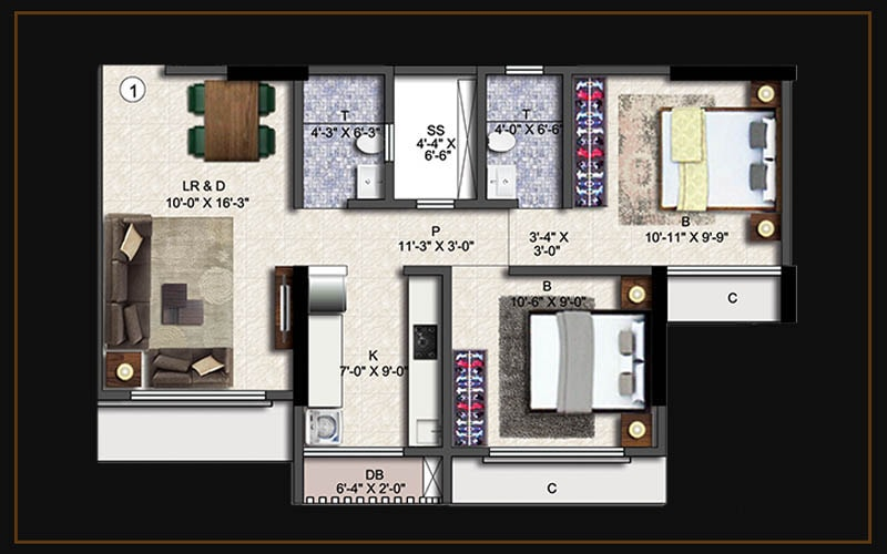 2bhk(a1)