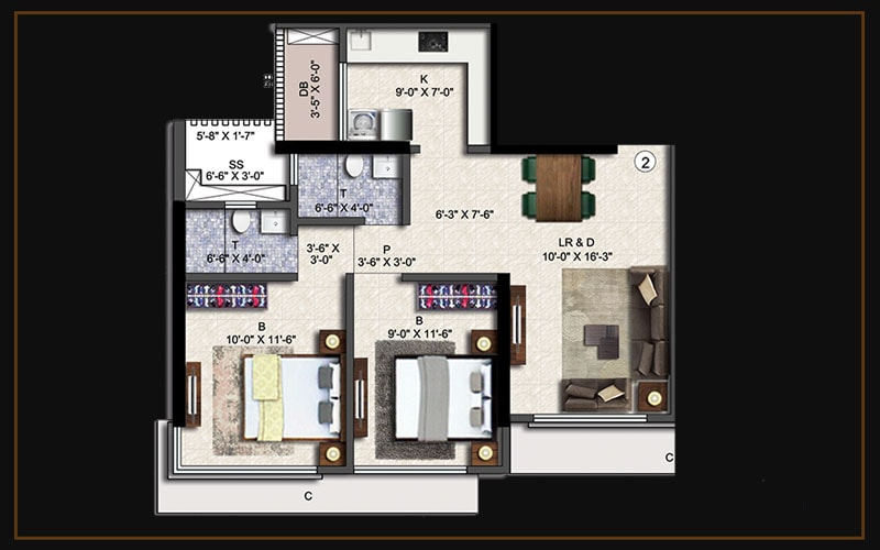 2bhk(a2)