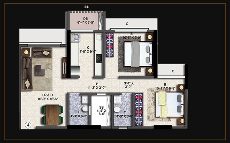 2bhk(a4)