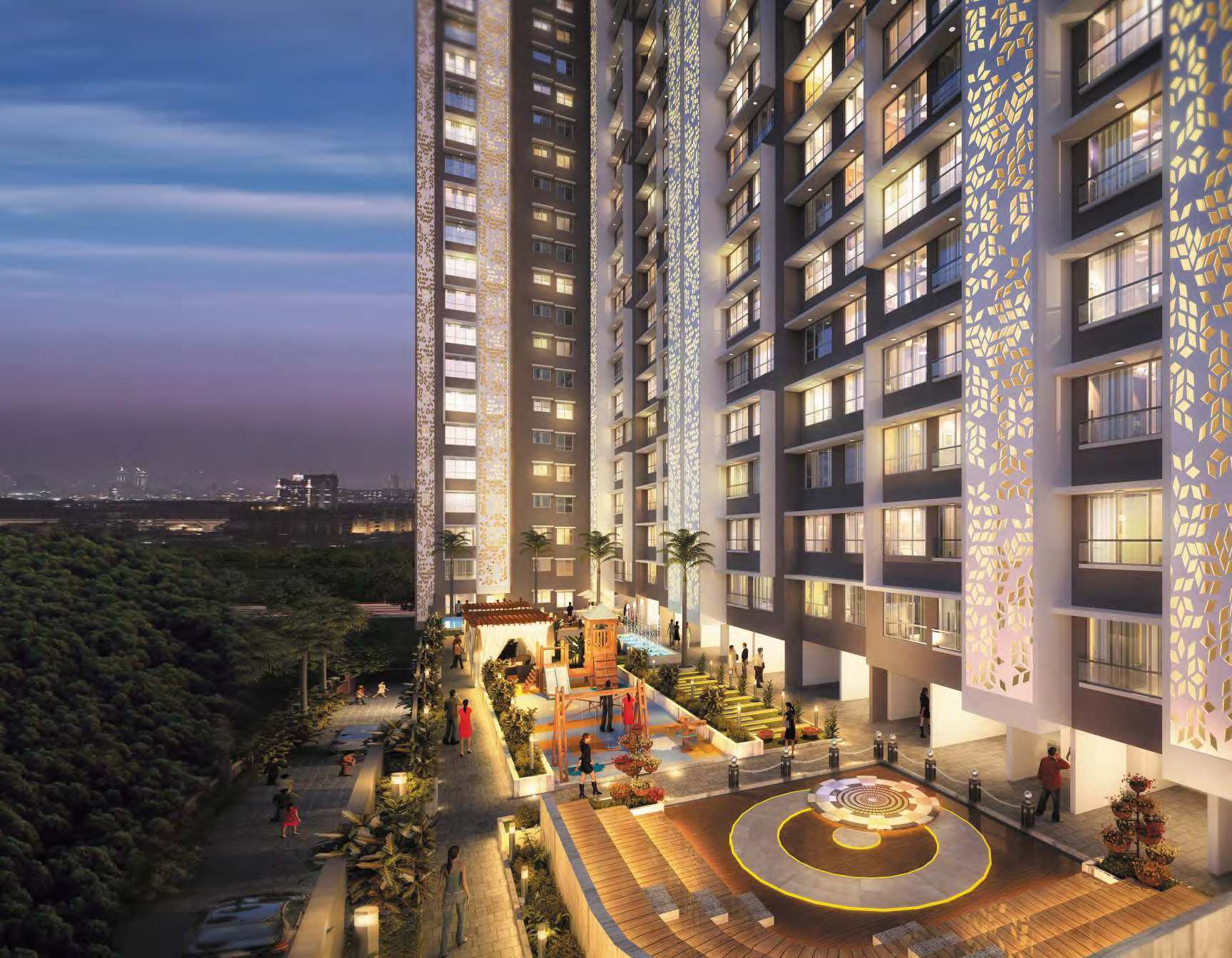 ananda residency  ongoing residential project in borivali